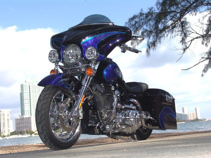 Custom Harley Davidson >> Electra Glide Stereo Upgrade from Dragonfly Cycle Concepts ...